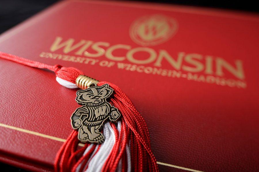 graduation tassel bucky